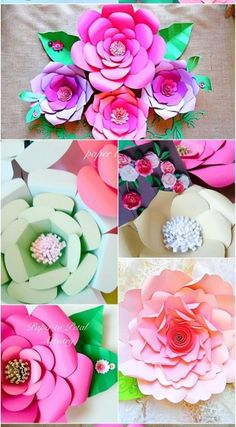How to make zinnias paper flower from printer paper free template lately i noticed that one of my friends have been hooked creating paper flowers and mightylinksfo