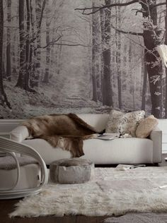 Interior Winter Inspiration- Dressing your home for winter | DeSmitten