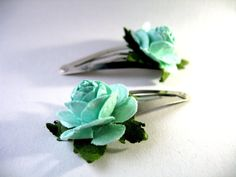 Young Children's Ballet  Turquoise Paper Flower by BabyBunheads, £2.98