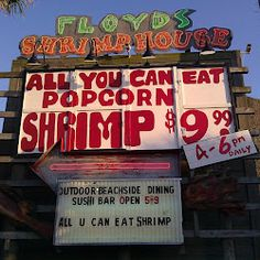 Fort Walton Beach and Floyd's