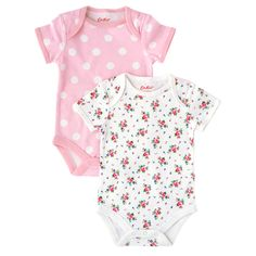 Hankie Rose Pack of 2 Baby Bodysuits | View All | CathKidston