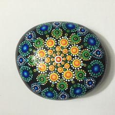 Mandala Stone #64