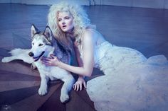 Snow white queen II - Photo: Paige Addams Model: Stefanie Lacante Mua&H: Coralie Verbruggen Styling: Leyla Frantzen