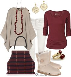 """""""Cape & Boots"""" by ailunsford ❤ liked on Polyvore"""