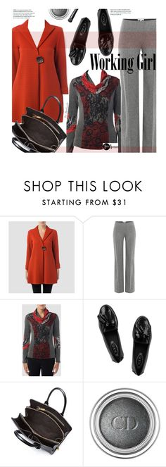 Fall Work Wear by beebeely-look on Polyvore featuring Joseph Ribkoff, Paule Ka, Tod's, Alexander McQueen, Christian Dior, NARS Cosmetics, WorkWear, Fall, fallfashion and premiereavenue