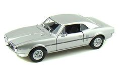 1967 Pontiac Firebird Hard Top (DieCast 1:24, Silver) By Welly Die Cast Cars
