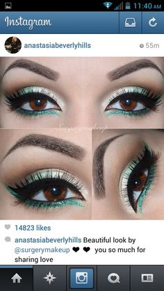 Best make up for brown eyes