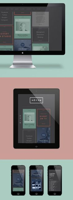 The Ultimate Trends for UI Inspiration: Animated Concepts, Menus, SVG graphics and more - Image 14 Gallery Packaging Inspiration, Webdesign Inspiration, Website Design Inspiration, Graphic Design Inspiration, Gui Interface, User Interface Design, Responsive Web Design, Ui Web, Corporate Design