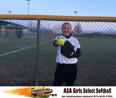 """Elizabeth or """"E"""" to her teammates is the Texas Travelers pitcher and first baseman. She is a 5th grader at Nebbie Williams Elementary. Her number is 21 and has played softball for 3 years. E's favorite softball player is legendary pitcher and Team USA star Jennie Finch as well as Cat Osterman. Her favorite high school player is Alyssa Henry of Rockwall High School. In addition to softball, Elizabeth loves to play basketball, volleyball, sing and shop. She is also an all """"A"""" student."""