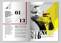 magazine layout design inspiration - Penelusuran Google