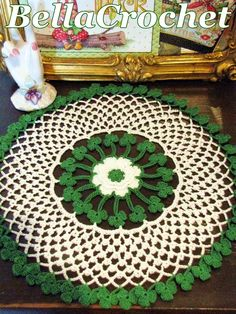 BellaCrochet: Irish Blessings Doily: A Free Crochet Pattern For You