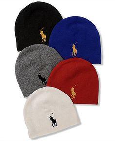 d05620baa28f Polo Ralph Lauren Hat, Big Pony Watch Cap Men - Hats, Gloves   Scarves -  Macy s