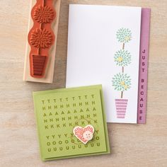 Vertical Greetings Clear-Mount Stamp Set by Stampin' Up!