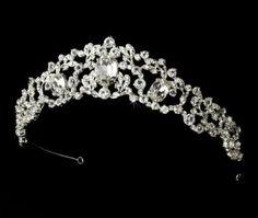 Rhinestone Sensation Wedding Bridal Tiara