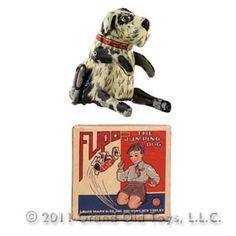 1940 Marx, Flipo The Jumping Dog In Original Box