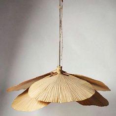 """""""Uchiwa"""" designed by Ingo Maurer for Design M, Germany 1970"""