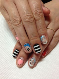 snow white and the seven dwarfs nails