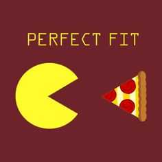 6ec9436a3477 Shop Pacman   Pizza video games t-shirts designed by as well as other video  games merchandise at TeePublic.
