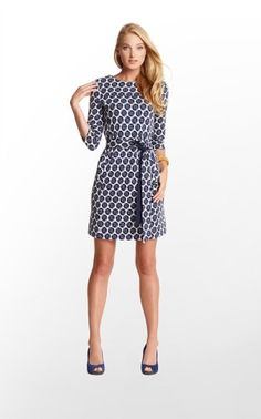 Jonah Dress in Unbuttoned $168 (w/o 9/22/12) #lillypulitzer #fashion #style by tamera