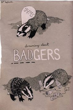 Badger badger badger badger! And from seeing this I am singing the song.