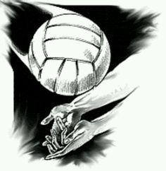 Крутые рисунки про волейбол