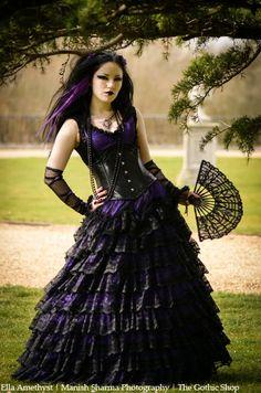 1d6062ad2b351 Ella Amethyst - Manish Sharma Photography - Sapphira Dress by Sinister