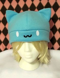 Catbug Fleece Hat by mdhatters on Etsy, $24.00