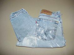 Womans Classic 5 Pocket 100% Cotton Vintage by NANDISNEEDFULTHINGS