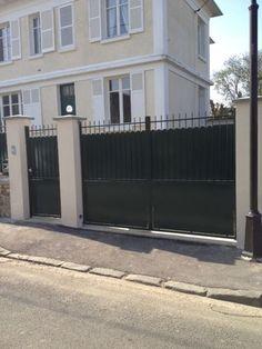 Portail et portillon en fer forg occasion portail pinterest Portillon lapeyre fer
