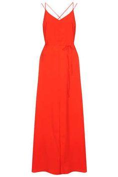 Strappy Cross Back Maxi Dress - Topshop