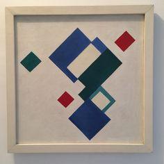 Marcel-Louis Baugniet - Construction vert, bleu, rouge, 1925 - Ideel Art