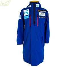 Phenix Mens Norway Team Poncho Jacket - Royal Blue Ski Racing, Ski Wear, Norway, Royal Blue, Skiing, Jackets, Shopping, Fashion, Ski
