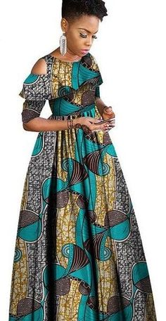 - Latest African Fashion Dresses, African Dresses For Women, African Print Dresses, African Print Fashion, African Attire, African Wear, Chitenge Dresses, Traditional African Clothing, Dressy Outfits