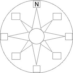 Compass Rose Printout – EnchantedLearning… – Fitness And Exercises Social Studies Lesson Plans, 4th Grade Social Studies, Teaching Social Studies, Free Printable World Map, Teaching Maps, Enchanted Learning, Cardinal Directions, Painted Barn Quilts, Map Skills