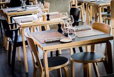 Uppetite Restaurant, Brussels, Belgium, 2016 /  66 Chair, Domus Chair, 81C Table