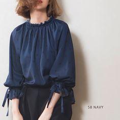 Hijab Fashion, Korean Fashion, Fashion Dresses, Casual Dresses, Casual Outfits, Sleeves Designs For Dresses, Fashion Forecasting, Korean Outfits, Blouse Designs