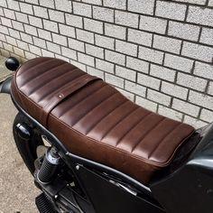 BMW K100 seat | Silver Machine custom seats