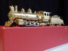 TOP-Sehr-Selten-Neuwertig-HOn3-Japan-Messing-Dampflok-D-amp-R-G-W-2-8-2-Class-37