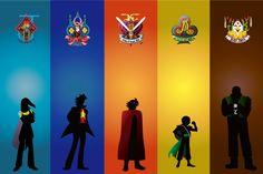 G Gundam Character Silhouette by SoKai274 on deviantART