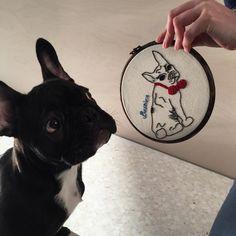 French Bulldog, Dogs, Handmade, Crafts, Animals, Animais, Hand Made, Animales, Animaux