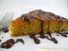 Receta Postre : Pastel de naranja sin harina por Reblogzandolo