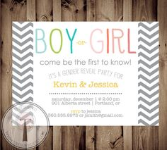 Hey, I found this really awesome Etsy listing at https://www.etsy.com/listing/167579864/gender-reveal-invitation-gender-reveal
