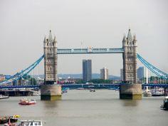 Tower Bridge on a sunny day (Joke :) )