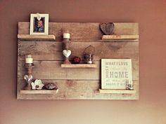 1000 images about voor aan de muur on pinterest van met and scaffolding wood - Grijze muur deco ...
