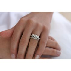 like this past, present, future. . . I need to find a wedding band like this just not fake