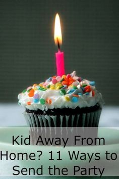 Kids at Camp, Boarding School or College on that special day?  Here is how to send the birthday party to them.