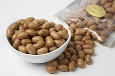 Japanese Peanuts are sweet, salty, and very addictive - with just a hint of soy sauce in the shell. 1 pound for $3.89
