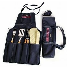 Fashion Whole New Design Bbq Charcoal Grill Tool Set In Bag High Quality Portable Tools