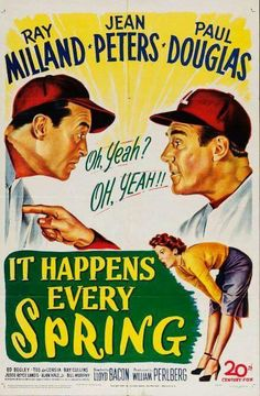It Happens Every Spring (1949) ray Milland, Jean Peters,