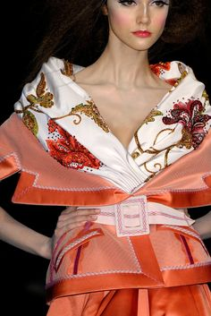 Asian Japanese Kimono Inspired Fashion Dior